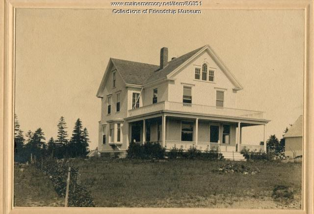 The Sherman Jameson house, Friendship, ca. 1915