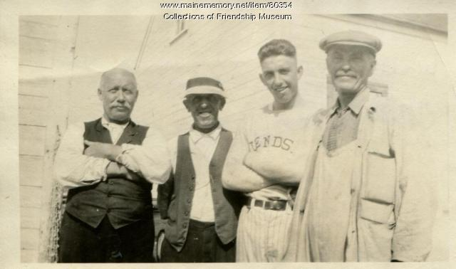Jameson & Wotton store employees, Friendship, ca. 1925