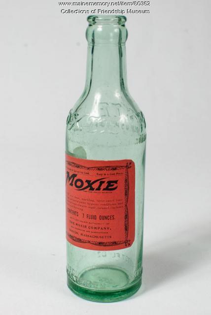 Moxie bottle, ca. 1920