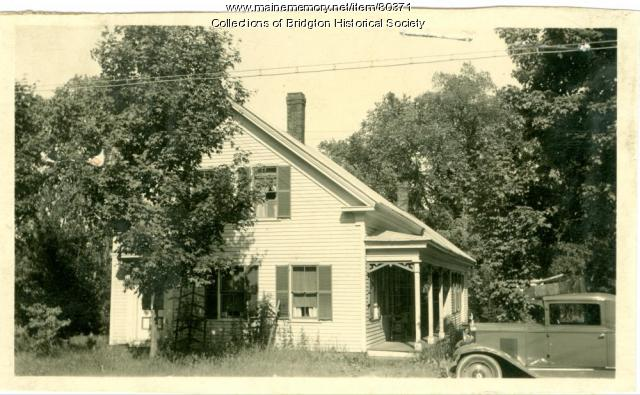 3 Bacon Street, Bridgton, ca. 1938