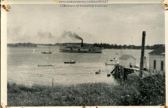 "Steamer ""Brandon,"" ca.1925"