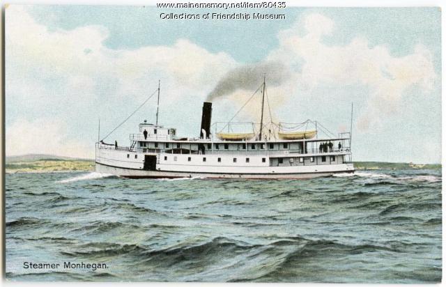 "Steamer ""Monhegan,"" 1915"
