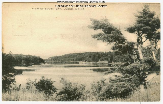 South Bay, Lubec, ca. 1954
