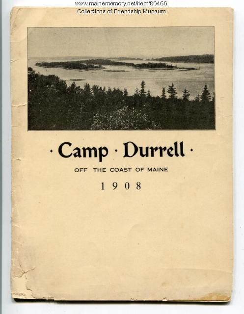 Camp Durrell brochure, 1908