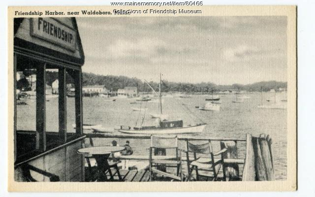 Friendship Harbor, ca. 1940