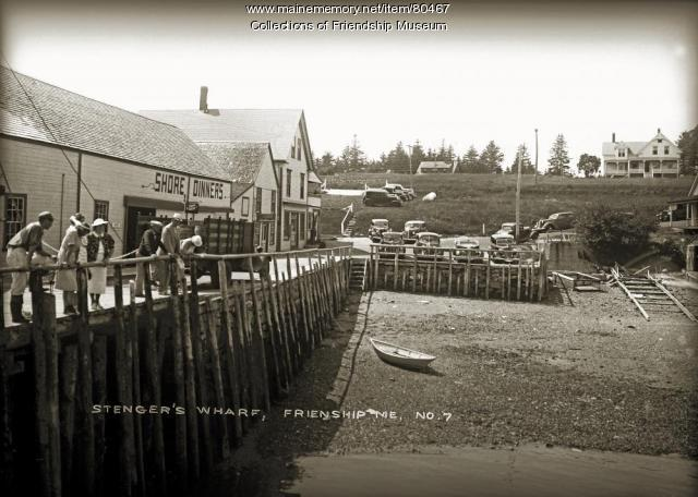 Stenger's wharf, ca. 1940