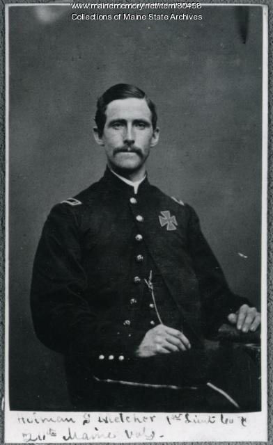 Holman Melcher, 20th Maine Infantry, ca. 1864