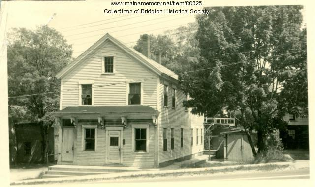 House on Main Street, Bridgton, ca. 1938