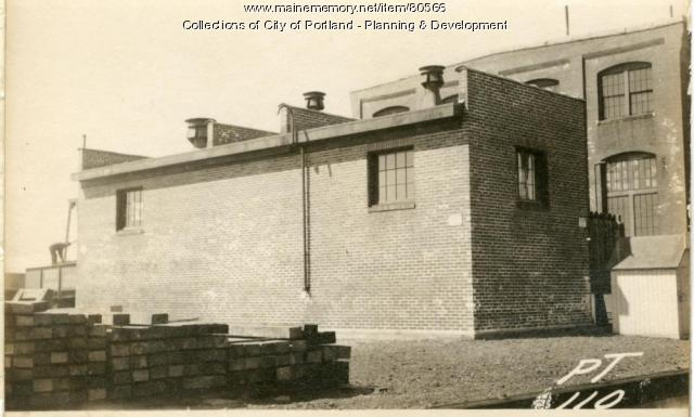 Factory, Thompsons Point, Portland, 1924