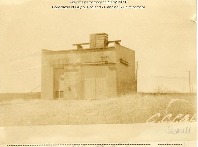 Storehouse, Hooper Street, Portland, 1924