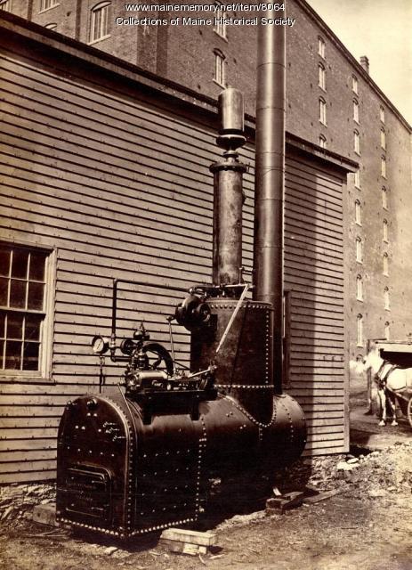 Fog horn whistle boiler