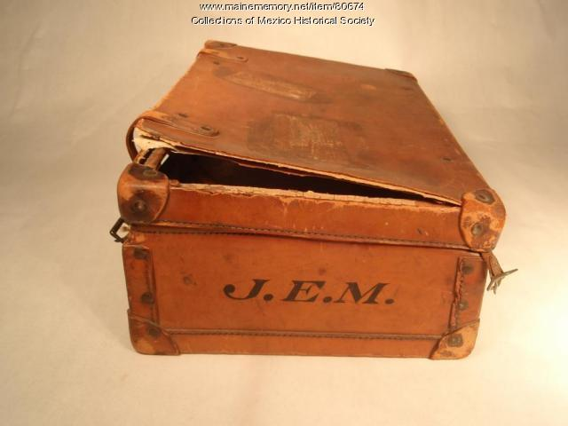 John Edward Barry suitcase, ca. 1925