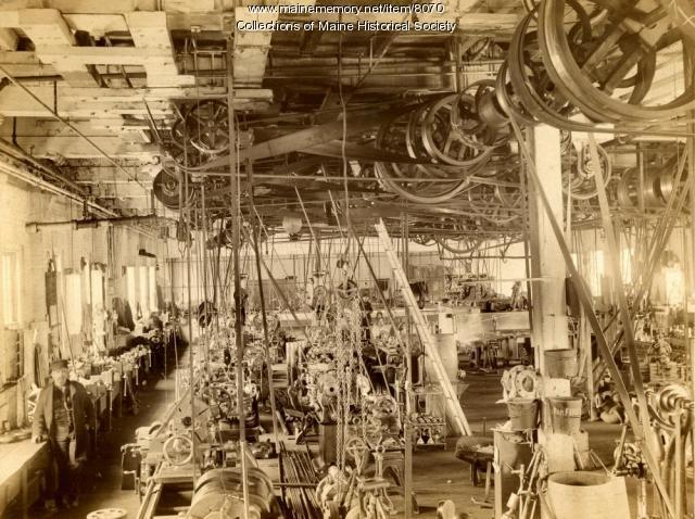 Item 8070 Machine Shop Portland Company Ca 1890