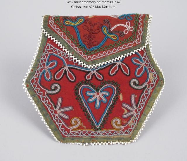 Beaded purse, ca. 1880