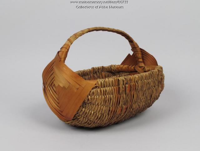 Egg Basket, Wabanaki, ca. 1900