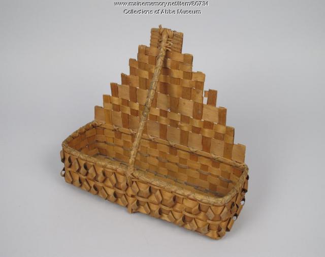 Comb basket, Wabanaki, ca. 1900