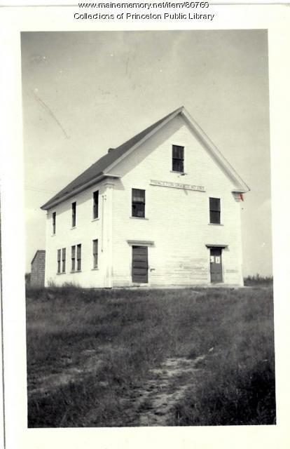 Princeton Grange, Princeton, ca. 1950