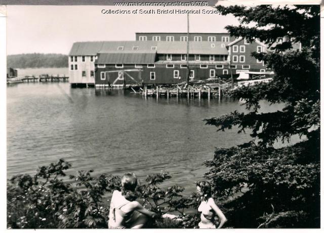 Gamage Shipyard, South Bristol, 1946