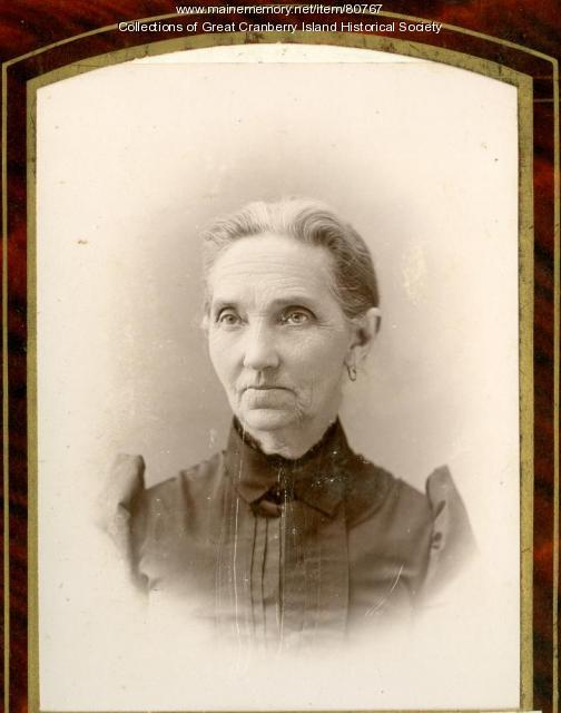 Jane Matilda Hadlock Sanford Preble, Great Cranberry Island, ca. 1890