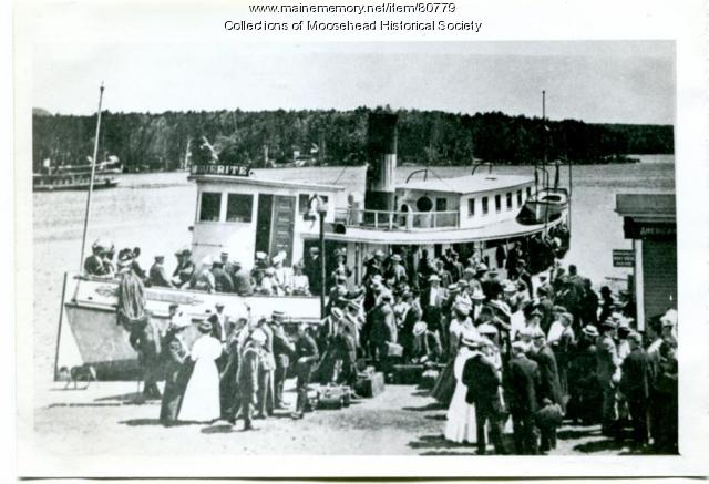 Steamboat Marguerite, Moosehead Lake, ca. 1910