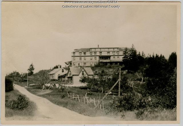 Hotel Nemattano North Lubec, ca. 1920