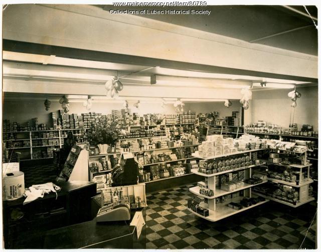 Morshee Superette, Lubec, ca. 1950