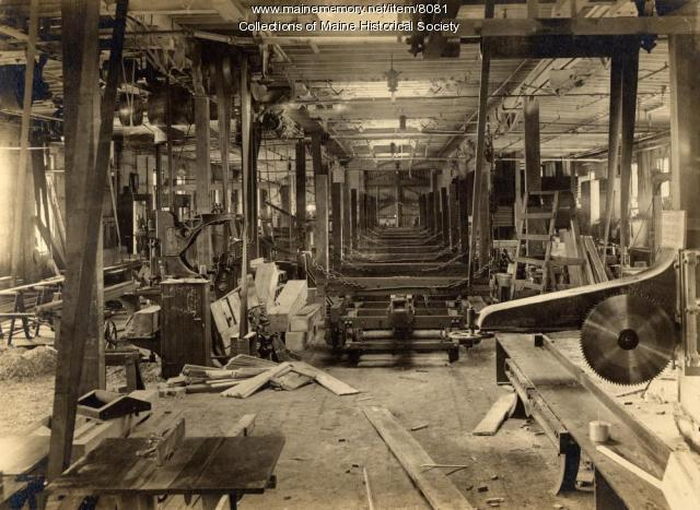 Erecting shop, Portland Company, ca. 1890