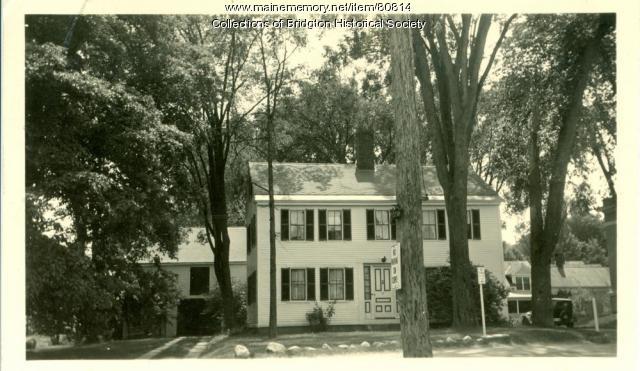 67 Main Street, Bridgton, ca. 1938