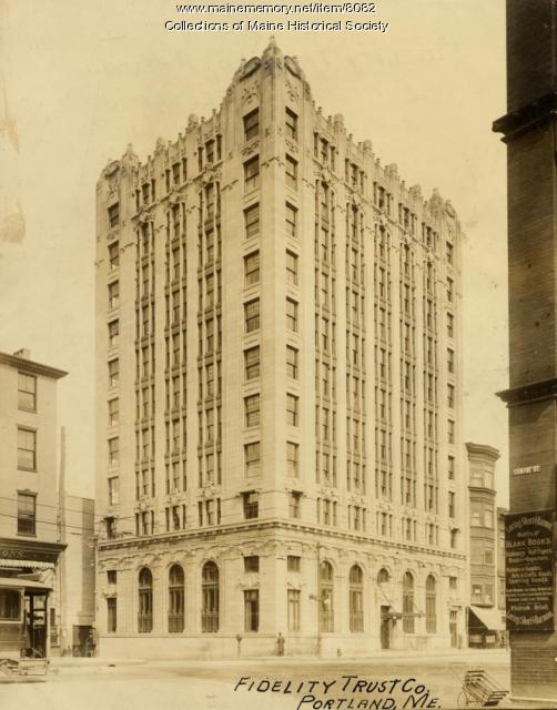 Fidelity Trust Building, Portland, ca. 1910