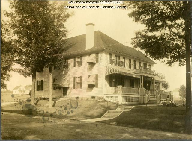 Millet Wedgwood Home, Berwick, ca. 1880