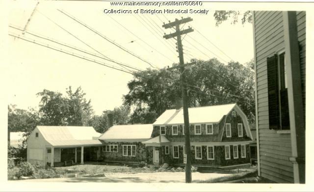 20 Main Street, Bridgton, ca. 1938