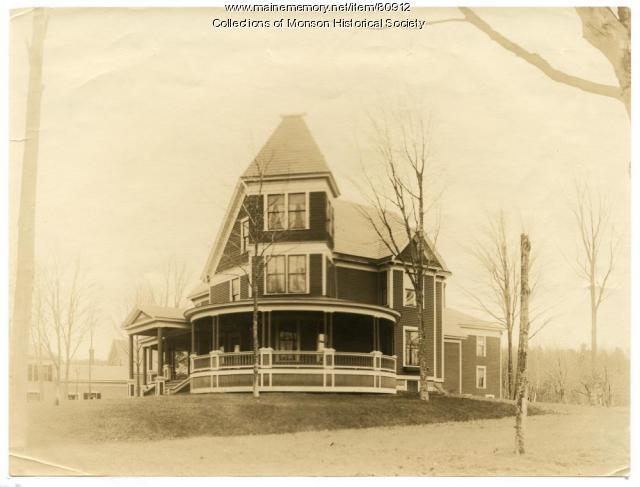 Crane Home, Monson, ca. 1915