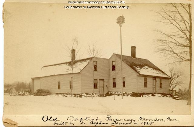 Davison Home, Monson, ca. 1890