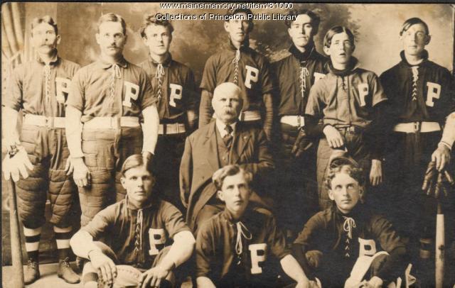 Baseball Team, Princeton, ca. 1908