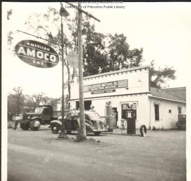 Plaisted's Garage, Princeton, ca. 1945