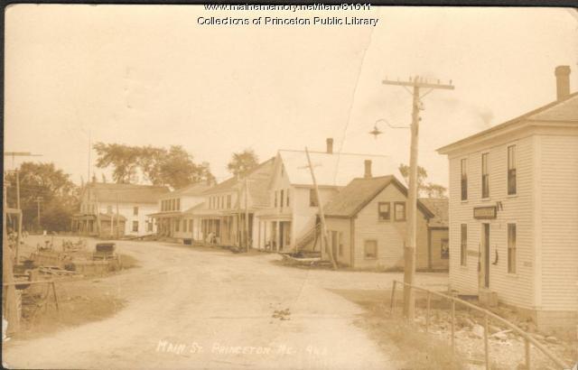Main Street, Princeton, ca. 1912