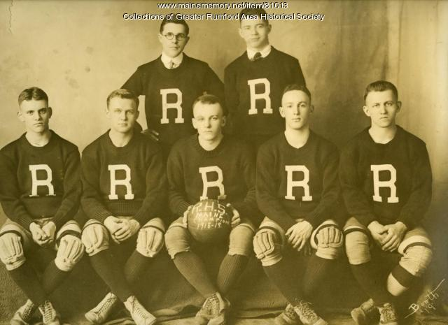 Stephens High School basketball champs, Rumford, 1919