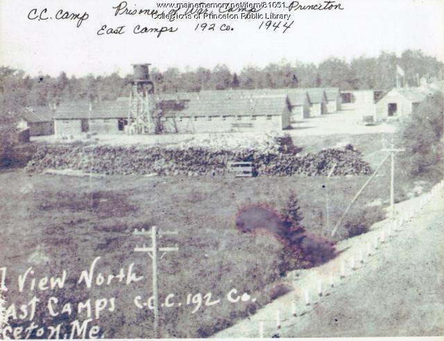 CCC Camp, Indian Township, ca. 1934