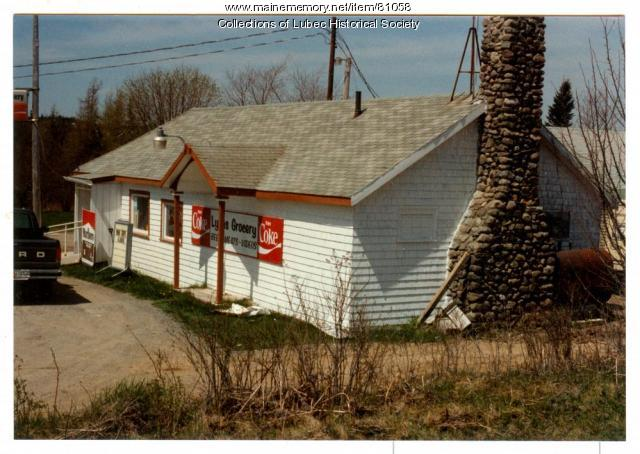 Lyon's Grocery, West Lubec, 1992