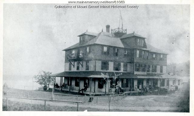 Asticou Inn, Northeast Harbor, ca. 1885