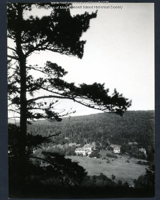 Asticou Valley View, Northeast Harbor, ca. 1950