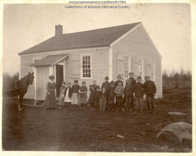 Burma District School, Monson, ca. 1880