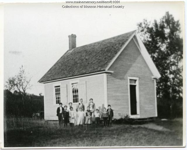 North Neighborhood School, Monson, ca. 1910