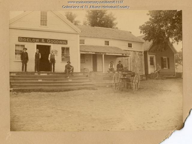 Bigelow & Goodwin Store, St. Albans, ca. 1880
