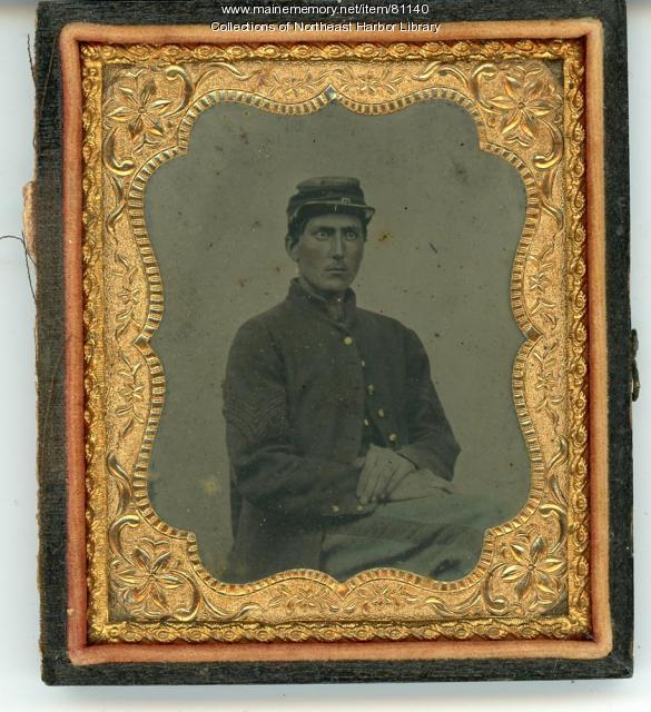Samuel Tyler Savage in his Civil War Uniform