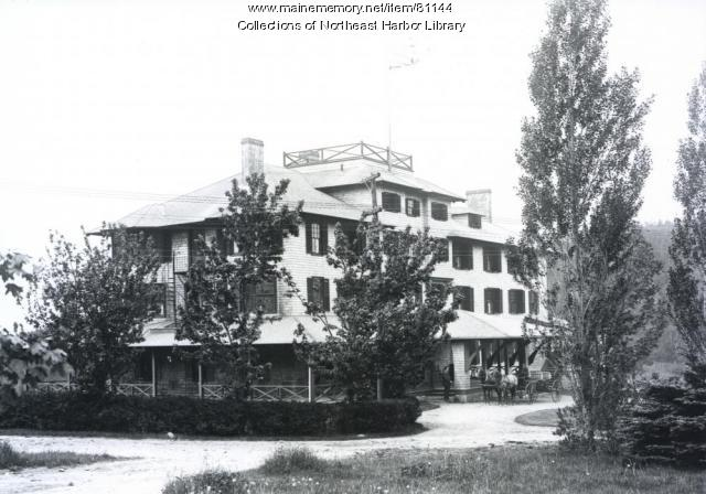Asticou Inn, Northeast Harbor, ca. 1901