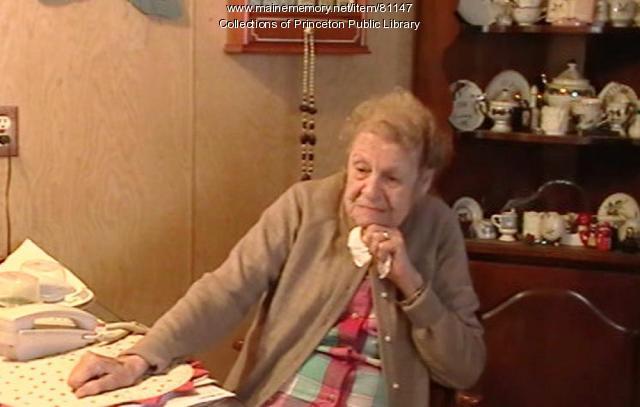 Louise Deschene interview, Princeton, 2012