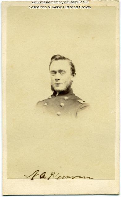 Surgeon Nahum Hersom, 17th Maine, ca. 1863