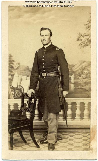 Lt. Frederic W. Lane, 20th Maine