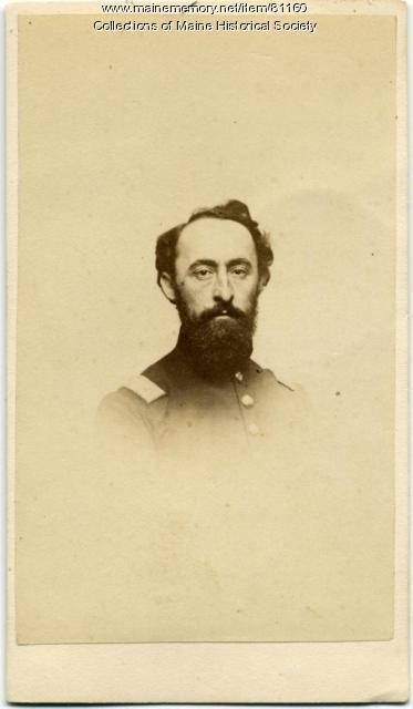 Capt. Samuel T. Keene, 20th Maine, ca. 1863